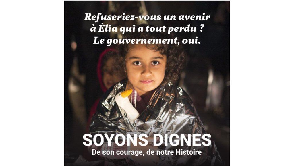 Où est la République? Où est enfermée la déclaration des droits de l'Homme quand des militants humanitaires qui viennent en aide à des réfugiés en péril sont placés en garde à vue et quand l'extrême droite raciste pratique des contrôles aux frontières en toute impunité.