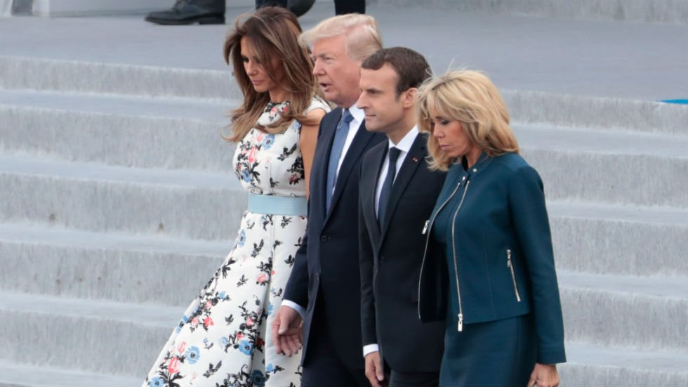 Melania Trump releases menu and details for Macron's state visit https://t.co/WIUXwNpGcs https://t.co/dGdHFO0iKF