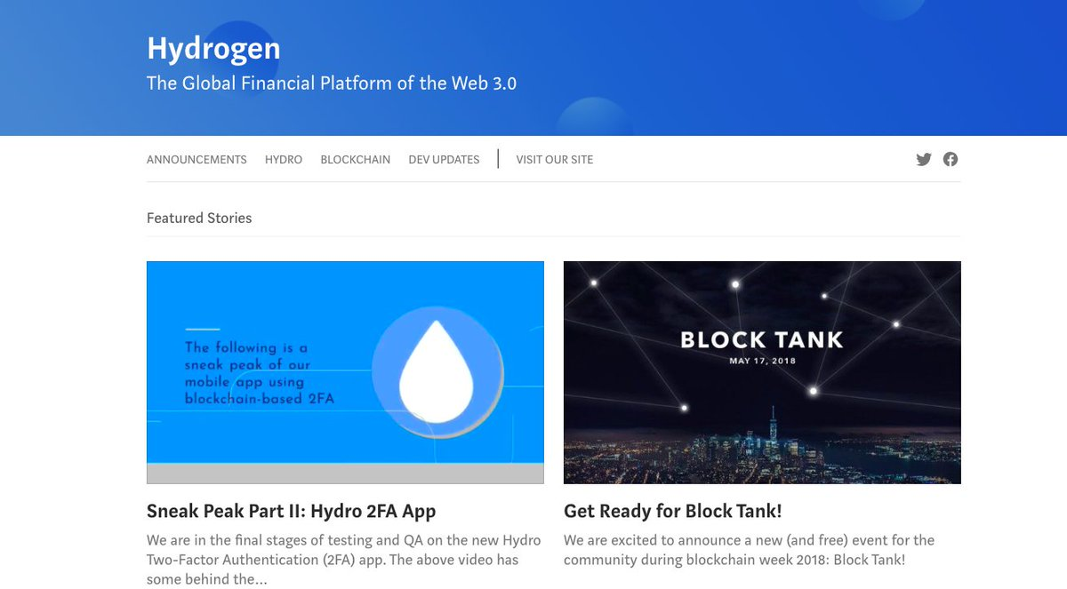 Check out the new design on our daily @HydrogenAPI #Magazine. We have daily musings on #blockchain #Ai #fintech #APIs and the future of #technology  https:// medium.com/hydrogen-api  &nbsp;  <br>http://pic.twitter.com/CafJvvj1PO