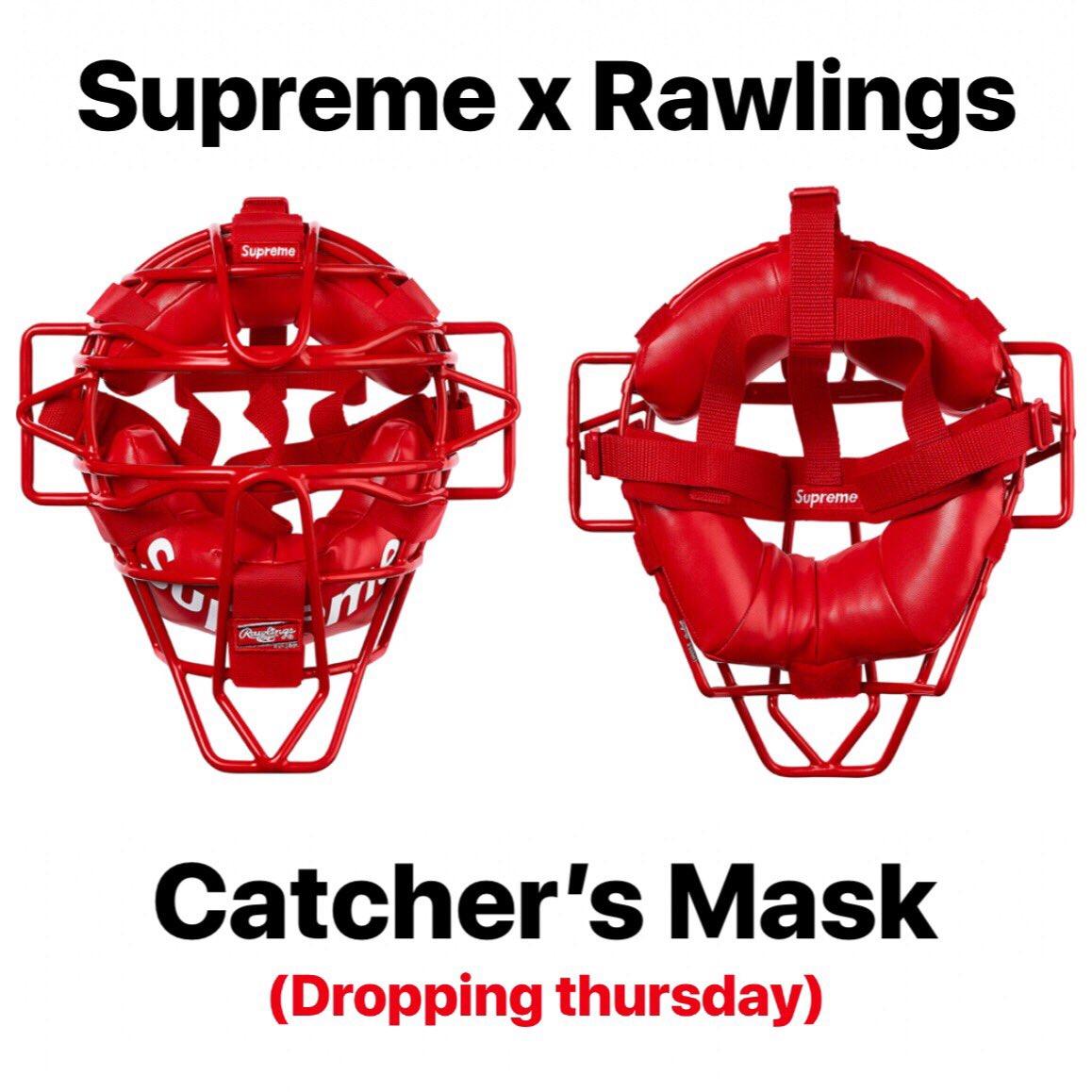 SUPREME  Rawlings 2018 Catcher/'/'s Mask
