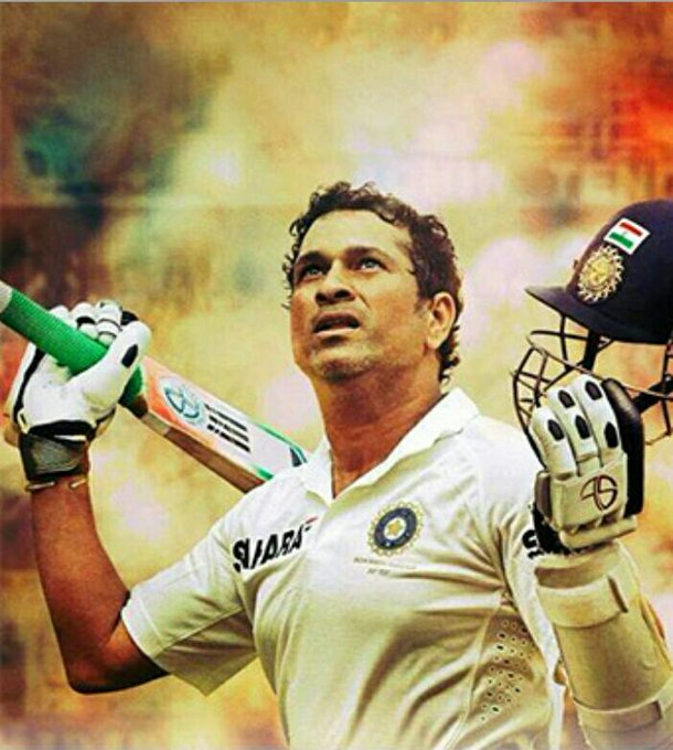 Happy birthday the cricket of God  Sachin Tendulkar sir