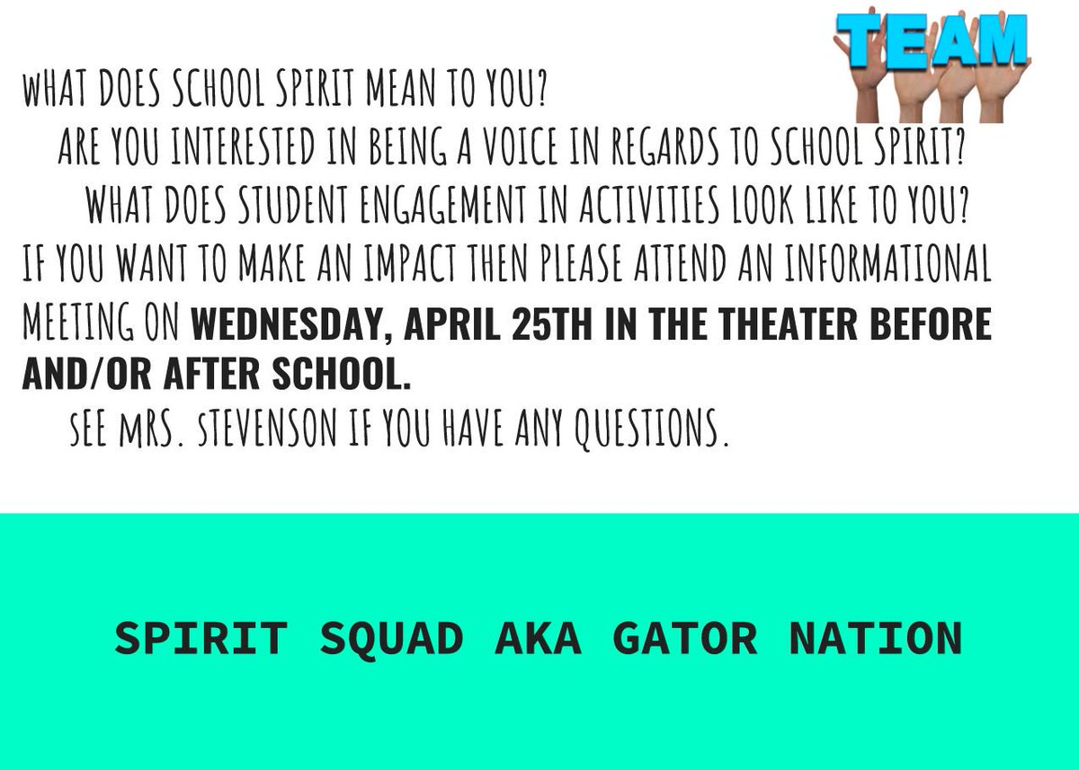 what does school spirit mean to you