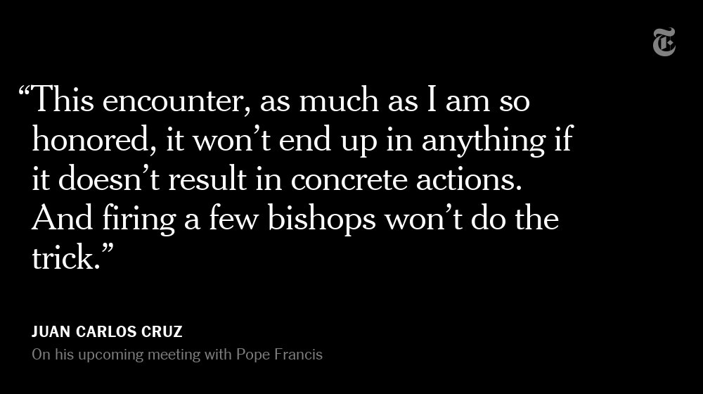 He forced the Vatican to investigate sex abuse. Now he's meeting with Pope Francis. https://t.co/1XEgudGHuB https://t.co/VSg0rxFS5S
