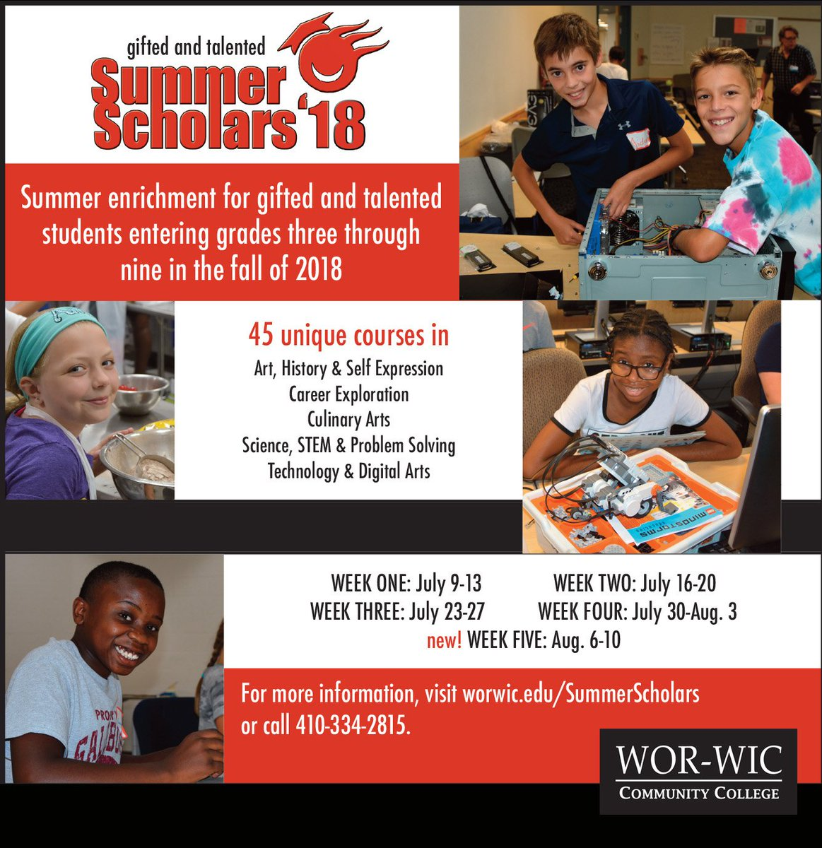 Wor Wic Community College On Twitter Register Your Child By May 1