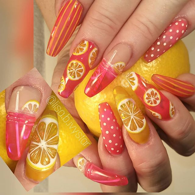 Inm Nails On Twitter Pink Lemonade By Our Educator Lisa B Ivystar Using Cover And Clear Acrylic Powders Inmnails Inmeducator Inmclearacrylic