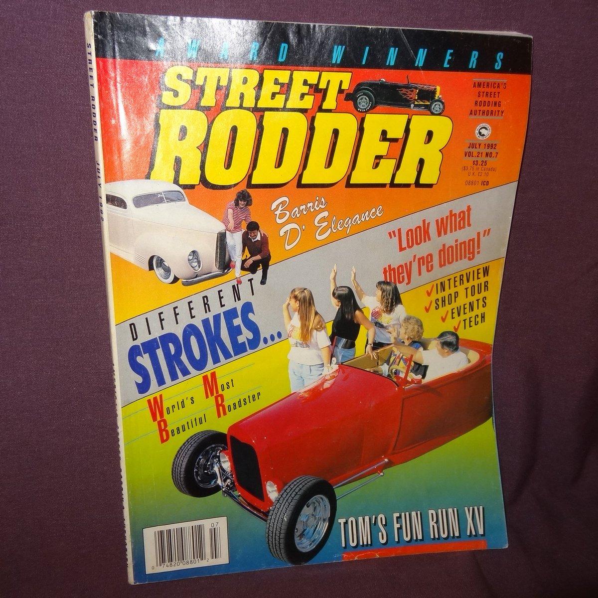 https://www. ebay.com/itm/1427699069 91 &nbsp; …  #StreetRodder #Magazine July 1992 Different Strokes Fun Run #Cars  http:// stores.ebay.com/ktefashionandc ollectibles &nbsp; … <br>http://pic.twitter.com/fb8U2Zos3C