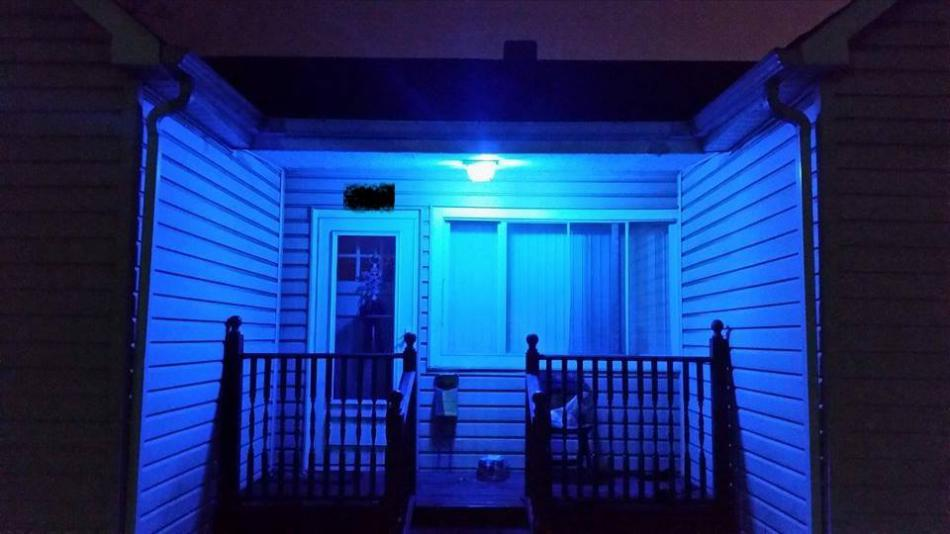 ... In Show Of Law Enforcement Support  Https://carsonnow.org/story/04/24/2018/carson City Encouraged Shine Blue  Porch Light Show Law Enforcement Support U2026