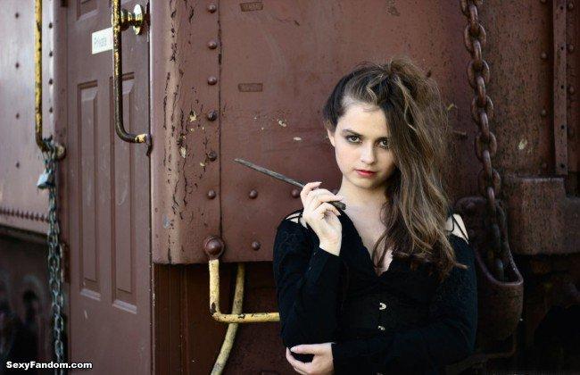 Sexy Fandom: MyLifeInColour's Chilling Bellatrix Lestrange...