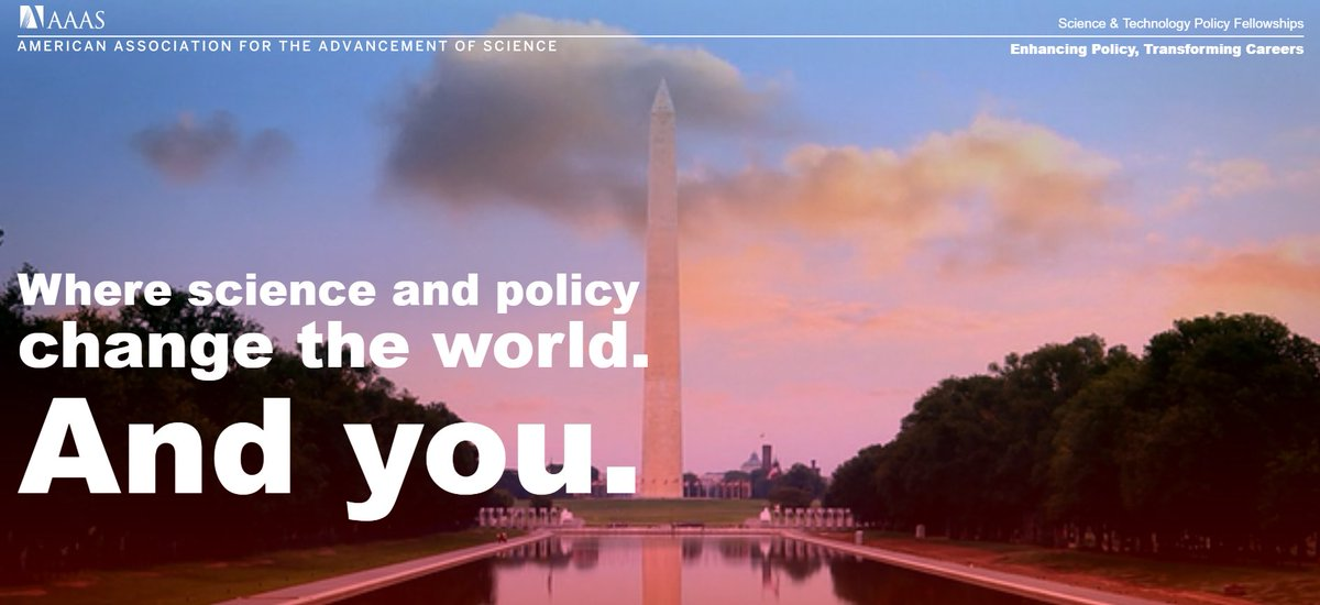 Want to use your science or engineering expertise to bridge the gap between #science and #policy? Apply to be a @aaas Science &amp; Technology Policy Fellow. Info session at @UCSanDiego happening 4/25 at 9am in PC West, Roosevelt College Rm  http:// go.stpf-aaas.org/%202018-UCSD.h tml &nbsp; …  #UCSDgradlife<br>http://pic.twitter.com/cXjzpuEnPF