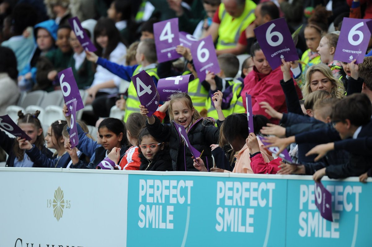With more than 5,000 fans at Lord&#39;s today for the MCC #WomensDay, a new attendance record has been set for a women&#39;s domestic cricket match in the UK!  A huge thank you to all involved.  #LoveLords<br>http://pic.twitter.com/sFgAopHP6n