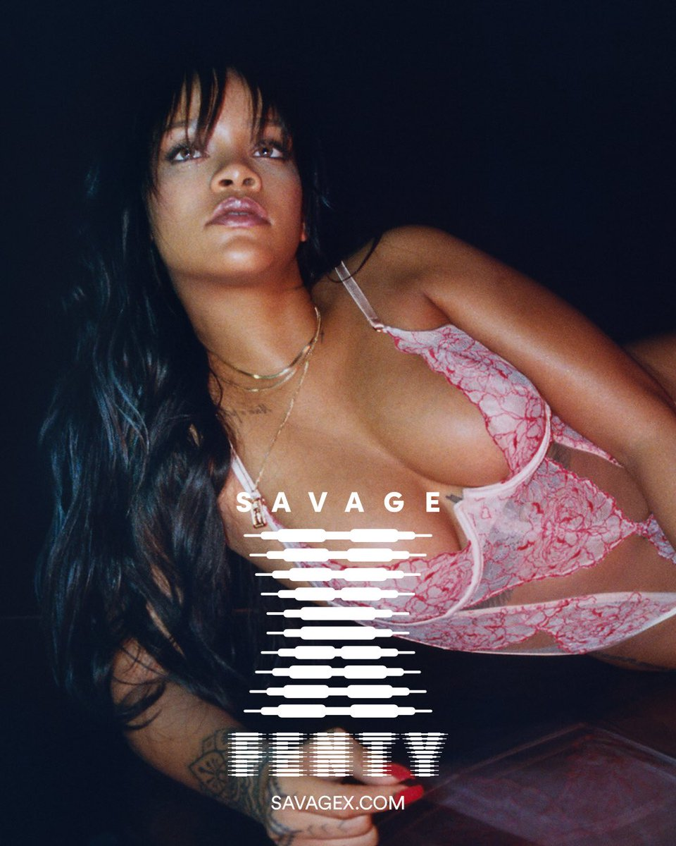 bet ya didn't know it's #nationallingerieday 😍 got a lil treat for my ladies.... #SAVAGEXFENTY is coming to you worldwide on MAY 11th!! Exclusively on https://t.co/h2tZQk97OH !! Head there now to peep the live countdown ⏱