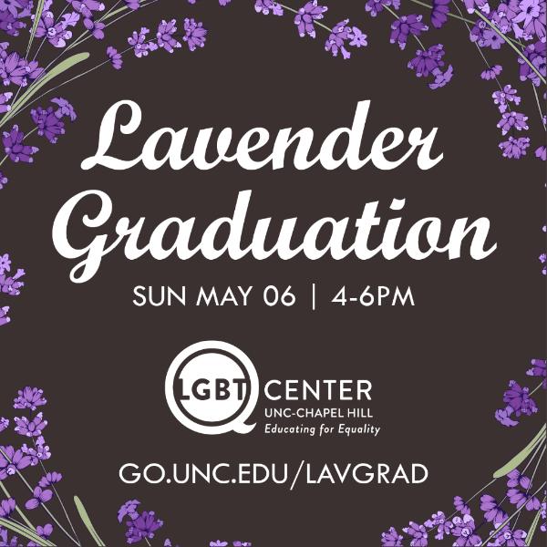 RT @lgbtq_unc: Register now! Deadline Extended for Lavender Graduation 2018 – https://t.co/WyTdLAArBQ https://t.co/yn4eVSZlad