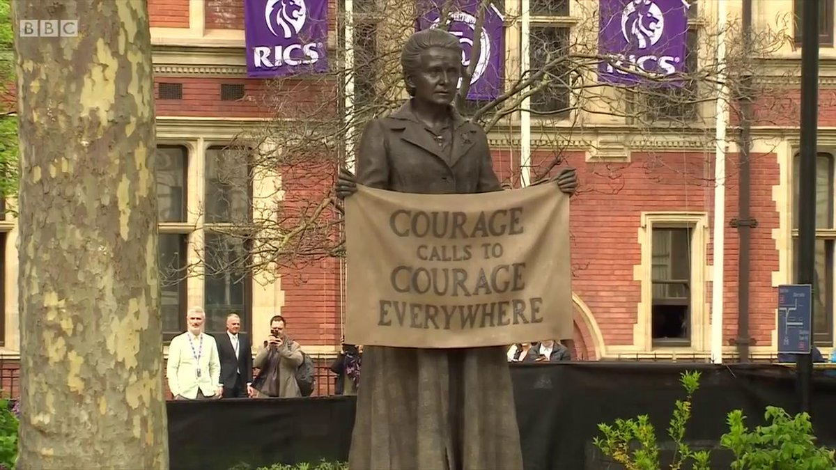 Video. Jo Swinson confirming she wants a statue of Margaret Thatcher in Parliament Square.