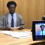 Image for the Tweet beginning: Derek Nwaobi, '18 makes his