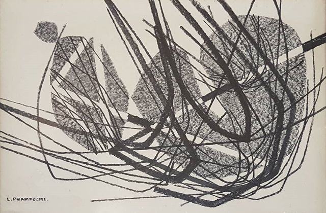 #EnricoPrampolini #drawing on #paper @bibos_place #Todi https://t.co/WV3d3dd3Wp
