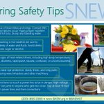 Time for Spring cleaning! We hope everyone is watching for potential hazards as we finally come into warmer weather. #Springhassprung #staysafe