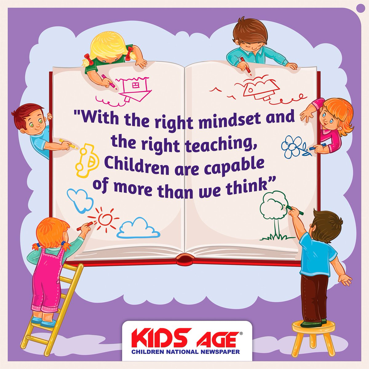 "KIDS AGE On Twitter: ""Best Children Educational Quote"