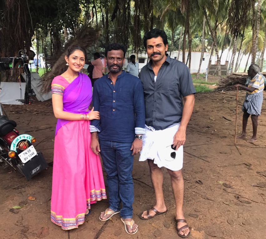 Kadaikutty Singam wraps up the shoot