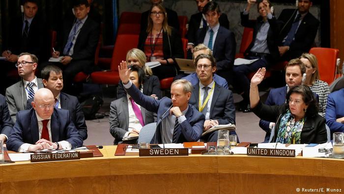 Ого! Запад может обойти право вето России в ООН. Для этого он хочет использовать резолюцию 1950 года - она позволяет 9 членам Совбеза (из 15) обойти вето РФ и передать вопрос на голосование Генассамблее https://t.co/ti7yWxBTUJ