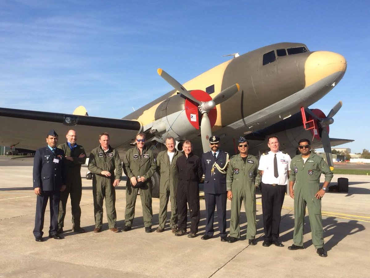 World War II era Dakota aircraft arrives in Jamnagar Air Base from UK