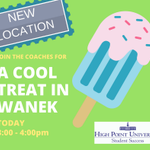 Join the coaches for an end of the year celebration in WANEK today from 3-4pm.  It's the last day of classes!!!! #HPU2021 #HPU2020 #HPU2019 #HPU2018