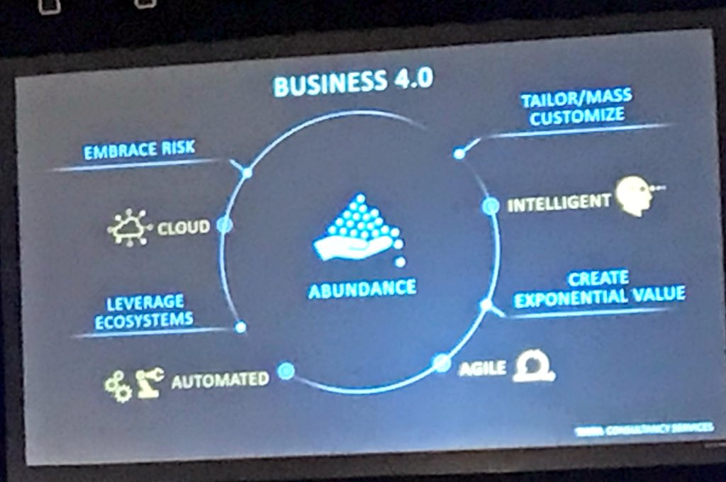 Saurabh Gupta On Twitter Tcs Business 4 0 The Power Of The Framework Lies In Its Simplicity Imo Tcsarday Kramanuj