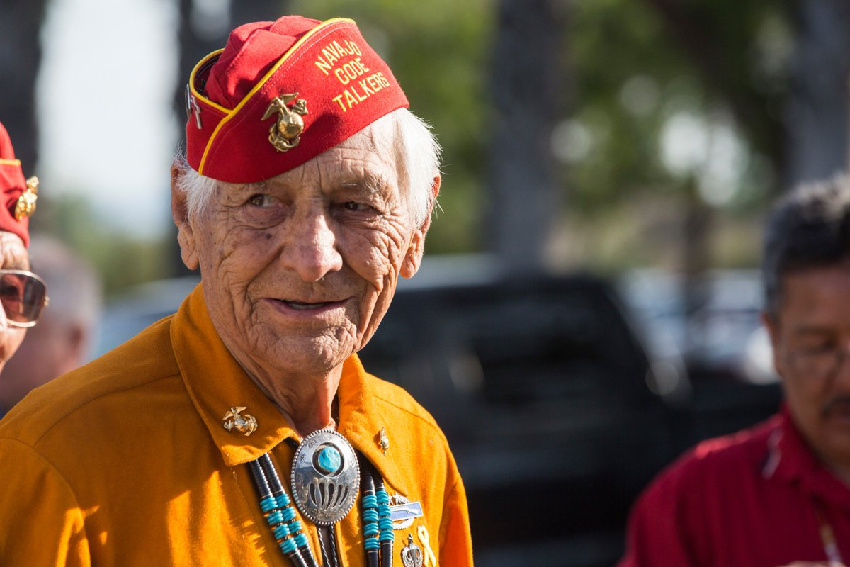 Navajo Code Talker Roy Hawthorne, died Saturday at 92 years old.  Hawthorne, one of the last surviving Code Talkers from WWII, enlisted in the Corps at 17 and became part of a legendary group of Native Americans who encoded messages in the Navajo language.   Semper Fi, Sir