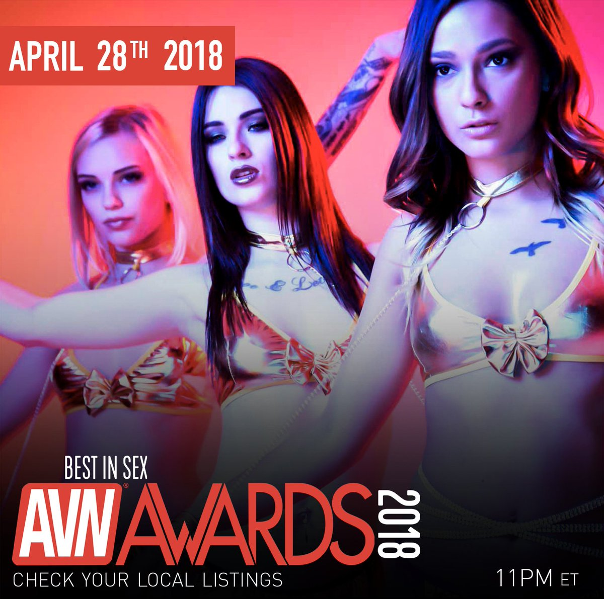 test Twitter Media - RT @avnawards: Let these 3 lead you to the #AVNAwards on April 28th!  @alexgreyxxx @JaydeSymz and @jayesummersxo https://t.co/fS1FgAydkt
