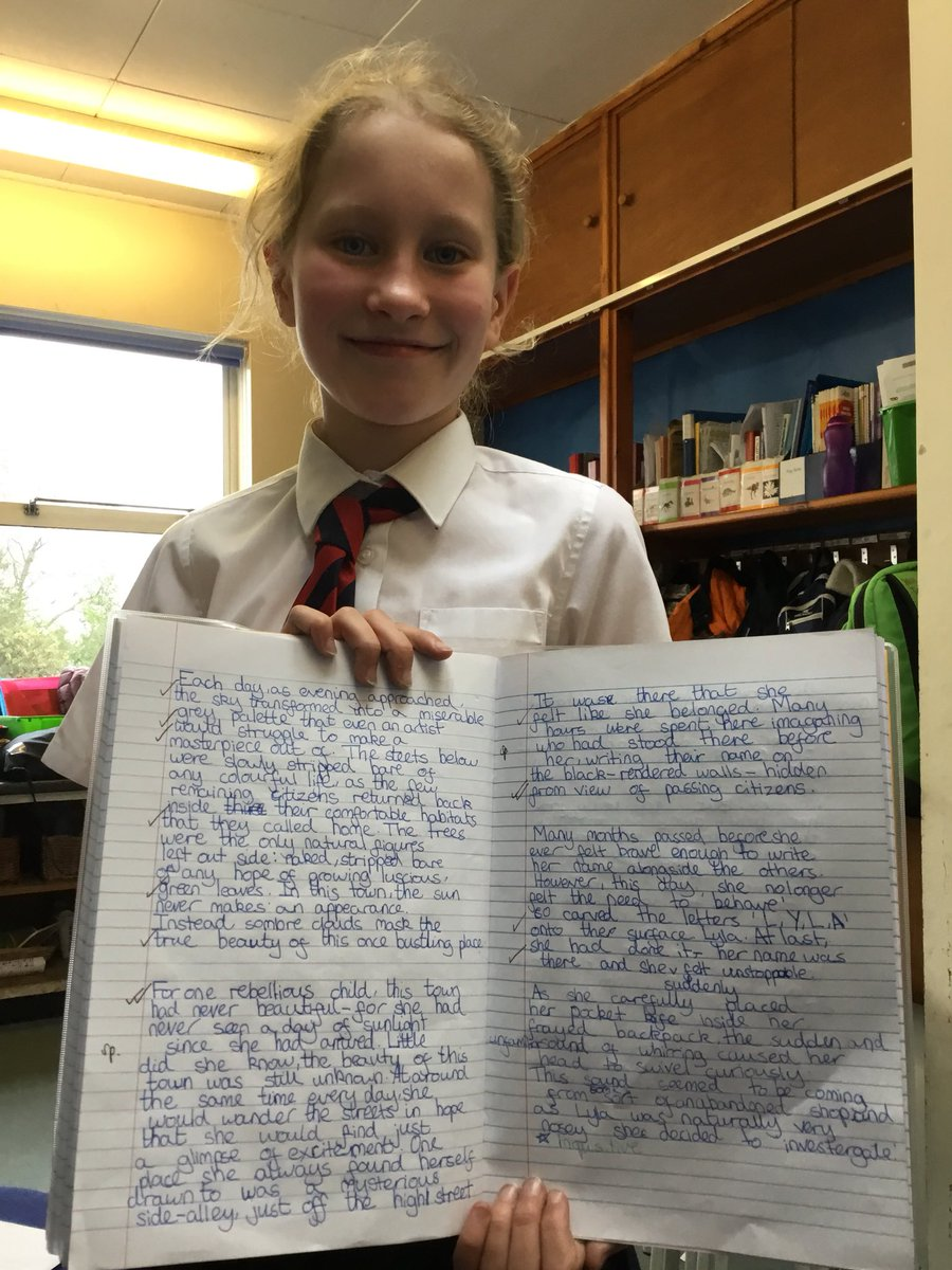 test Twitter Media - Well done to this hardworking year six who has turned her short story around for the better today - which means it is now officially awesome! Well done #gorseyenglish https://t.co/wXmT92S1Yp