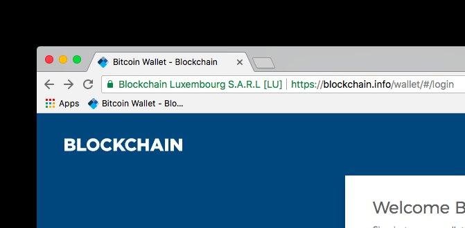 https blockchain info login