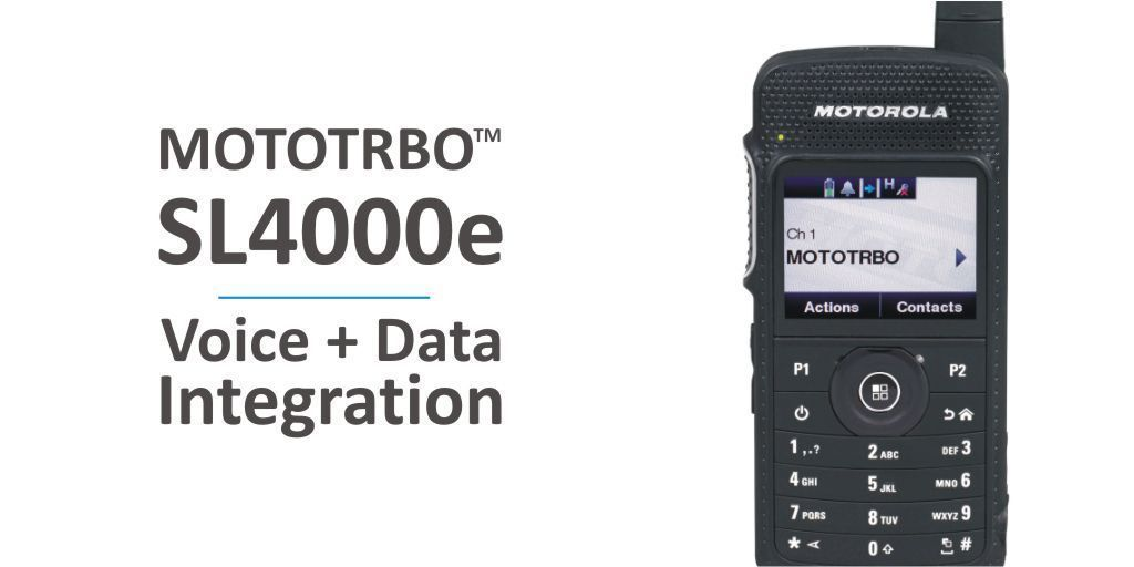 #TRBOTuesday - Unify your processes and help your staff make the most of their workday with the @MotSolsEMEA SL4000e Digital #twowayradio https://t.co/1Z31LXgU5H  #voiceanddata  #platinumpartner #digitalrevolution  #resilientsystem #systemintegration #heretosupportyou