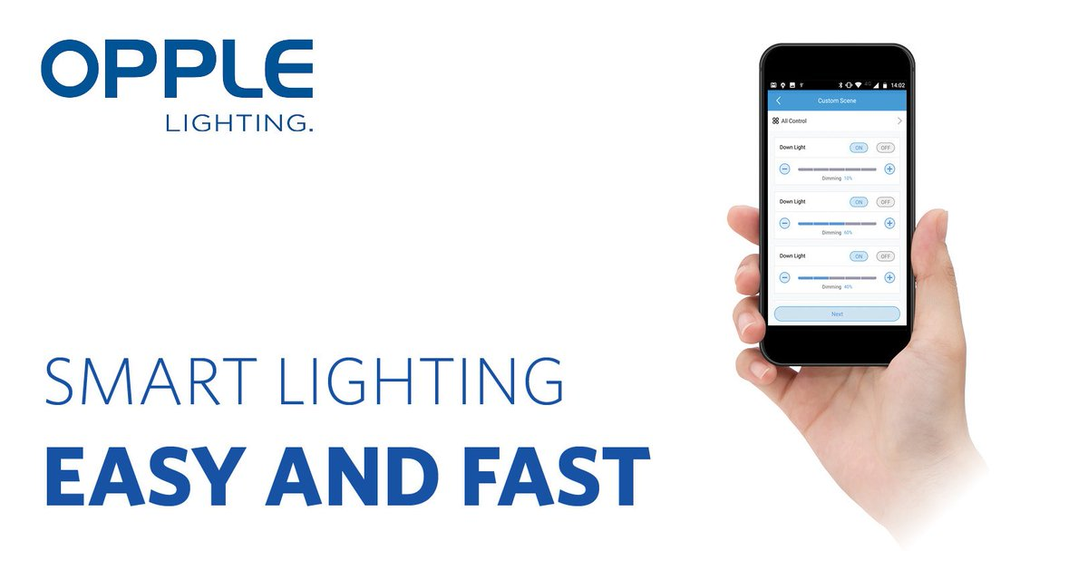 Discover Our New Smart Lighting Solutions. Easy And Fast! Check Our Website  For More Information: Http://eu.opple.nl/en/new Assortment Led Smart  Lighting U2026