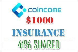 Image for COINCOME  Insurance shared 41%.