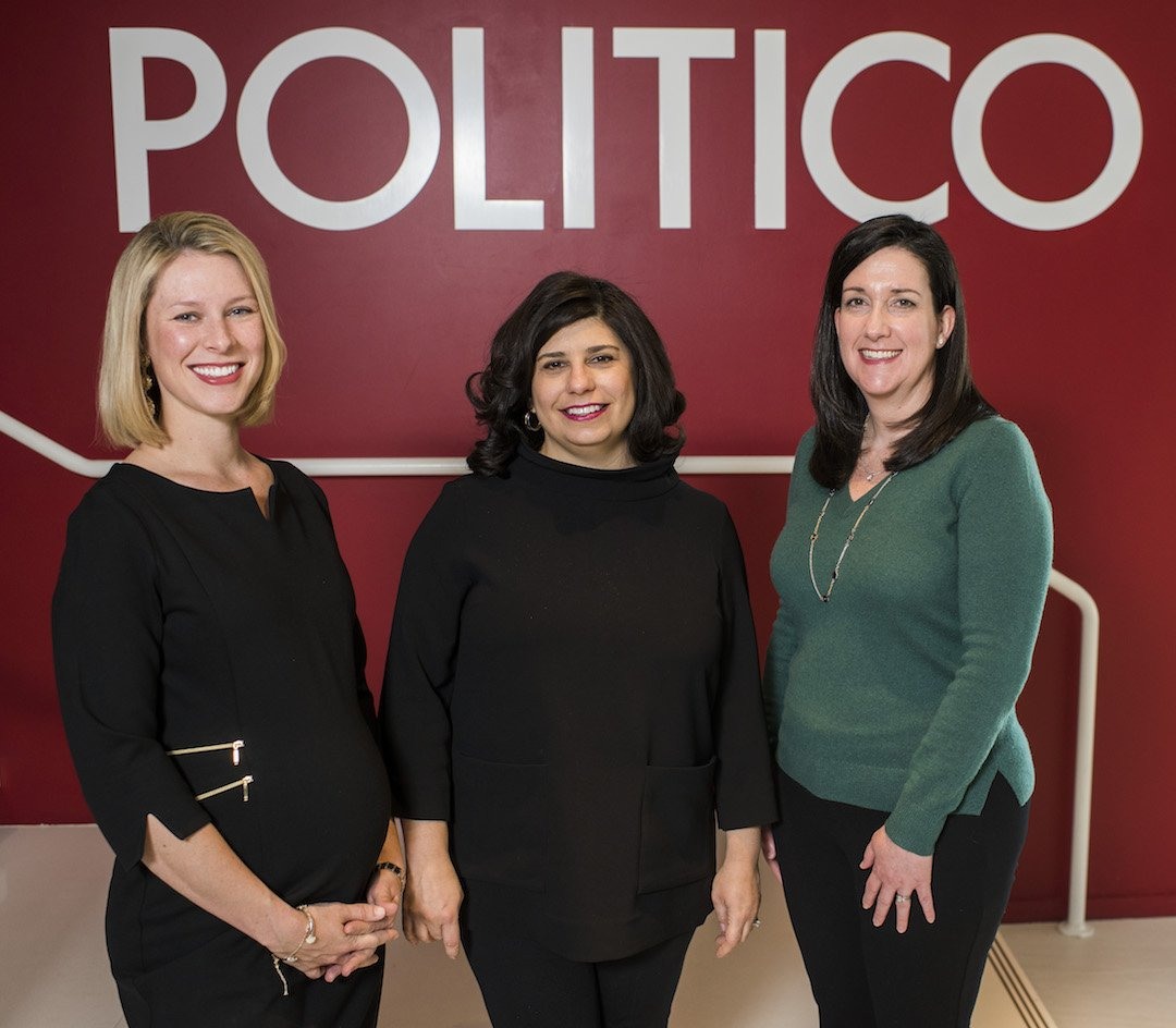 Check out this great profile of 3 POLITICO Leaders managing breaking news and family life #WomenRule @TraciSchweikert @cbudoffbrown @ VP Cally Baute  https:// bit.ly/2Kd9rbS  &nbsp;  <br>http://pic.twitter.com/Ie7Woe5QGe