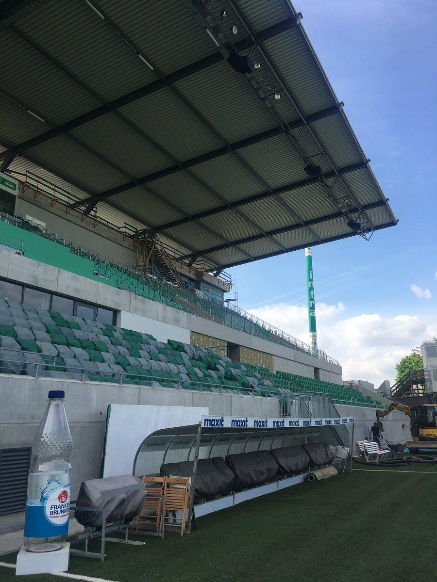 Cyril De Greve On Twitter Sportpark Ronhof Thomas Sommer Stadium Of Essmastadium Member Kleeblattfuerth Opened New Main Stand 10 Months Ago Hosting Over