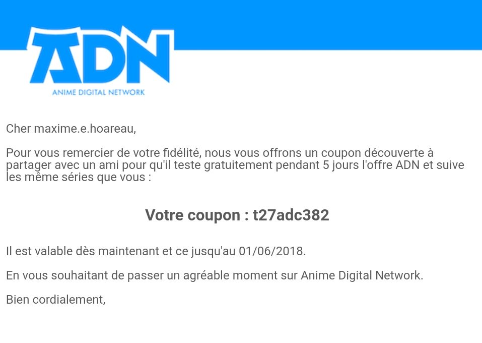 mes amis coupons