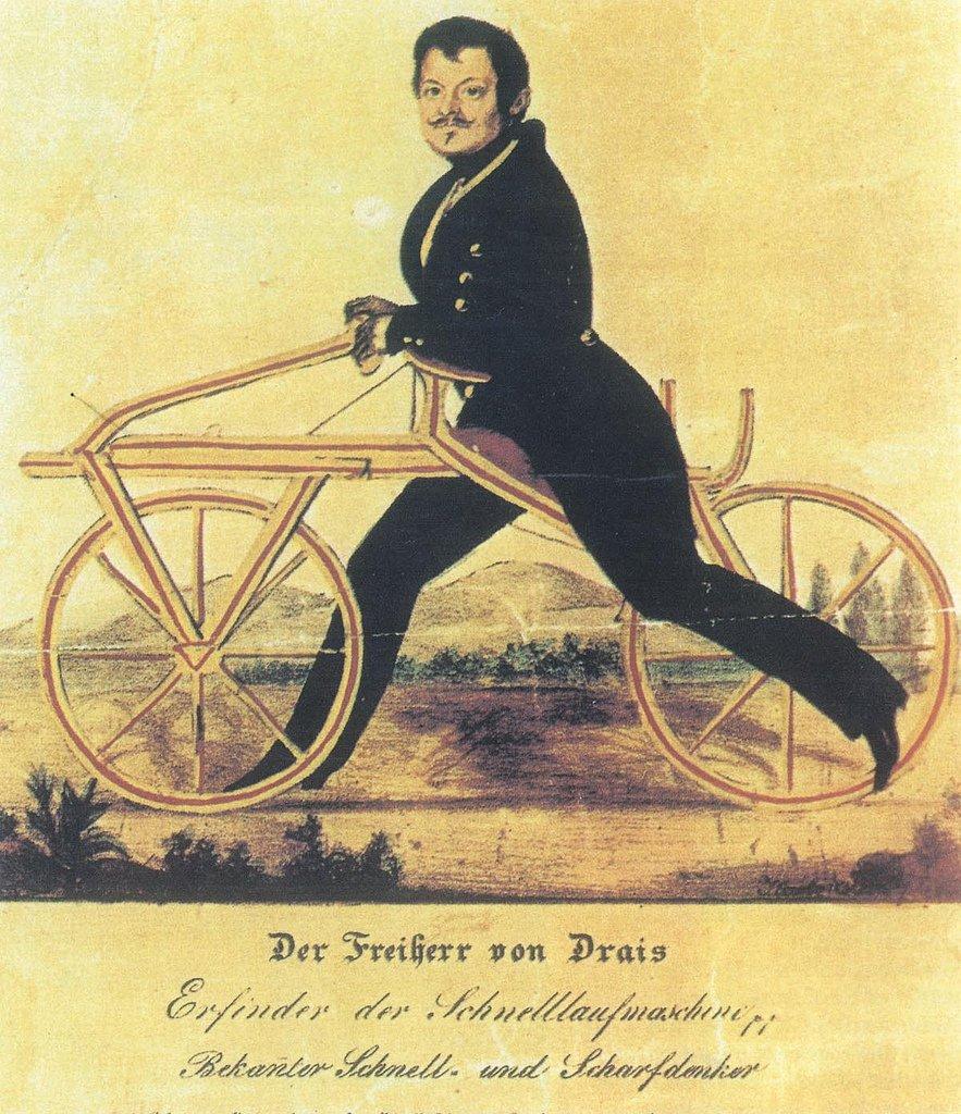Efemérides   1817. El inventor Karl Drais presenta la dresina, la cual  daría origen a la bicicleta, en Karlsruhe, Alemania.   Nuestro Diario    Scoopnest