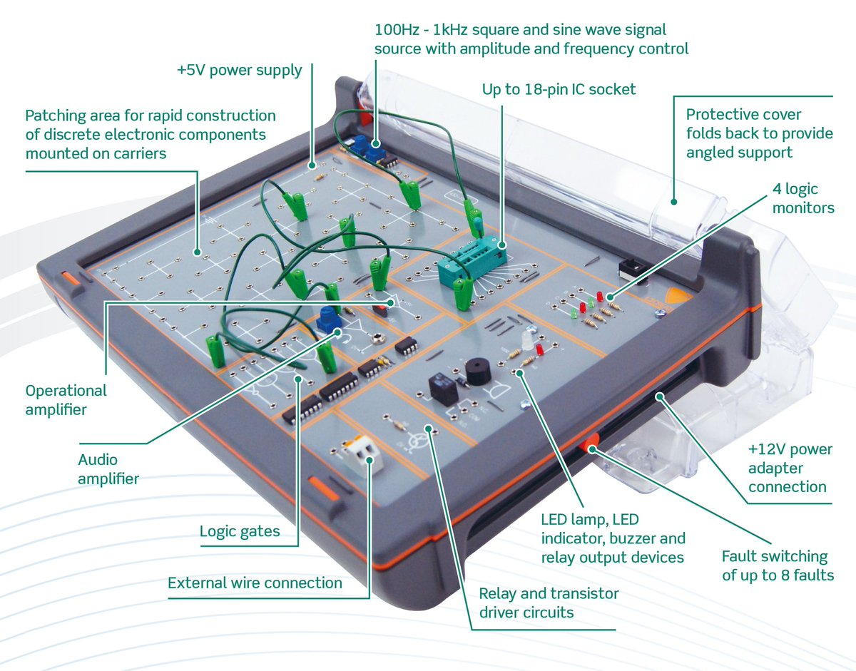 Lj Create On Twitter Our Electronic Circuits Trainer Teaching Set Design The Includes An Electronics Circuit Software And Student Resource Packs That Combine To Provide Exciting Range Of Build