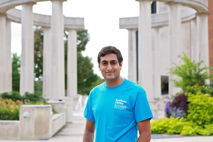 RT @UISLib: This week's Meet the Team features long-time student employee Ram! He is a joy to have on the #UISLib team. https://t.co/X7Ho0L…