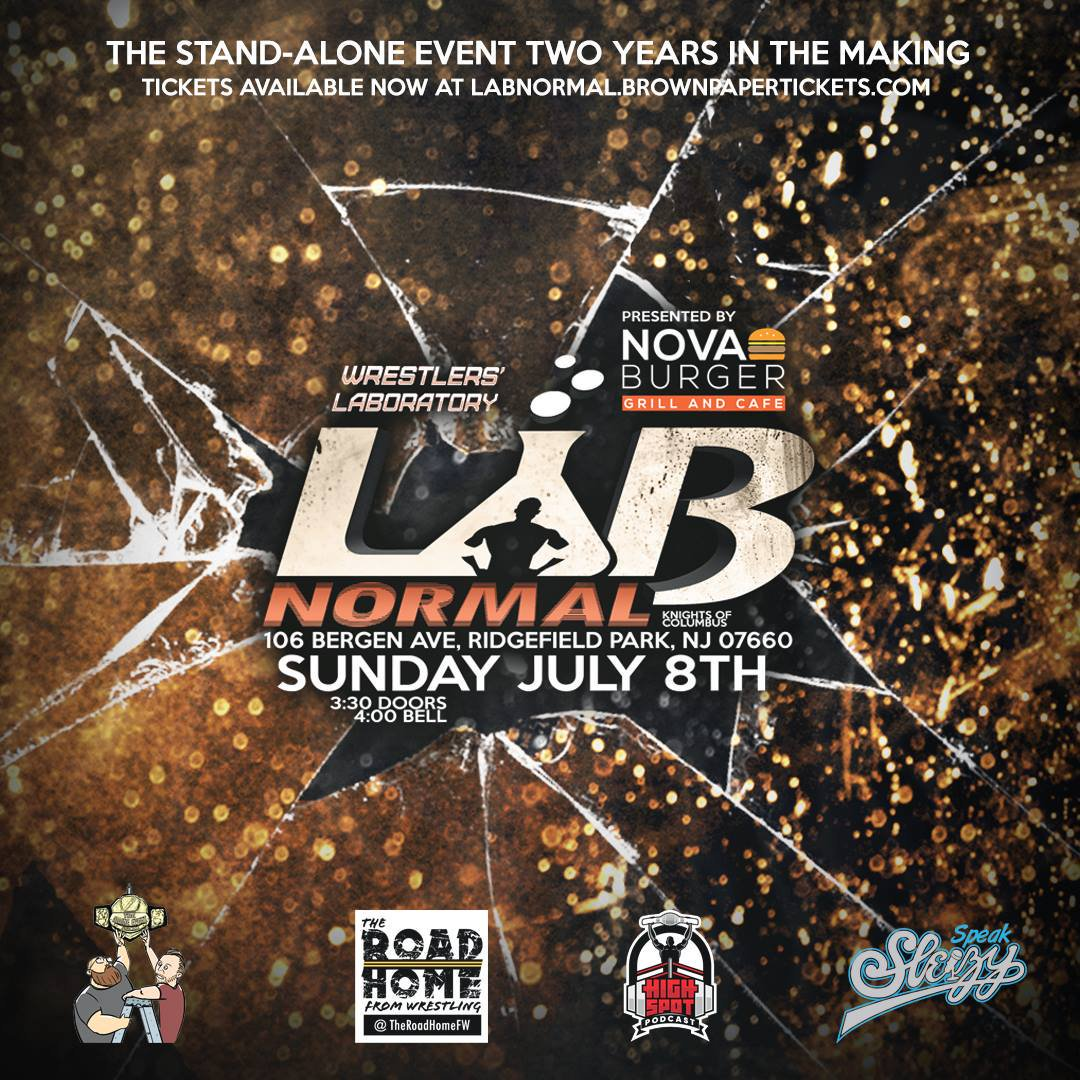 http:// labnormal.brownpapertickets.com  &nbsp;    We&#39;re six match announcements in. If we still haven&#39;t convinced you that our stand-alone debut is something that you do not want to miss, trust us...we will. #NYC, #NJ, #CT, #PA, and brave travelers, get ready to experience #TheLab in full force.<br>http://pic.twitter.com/rMZj5g0Lpk