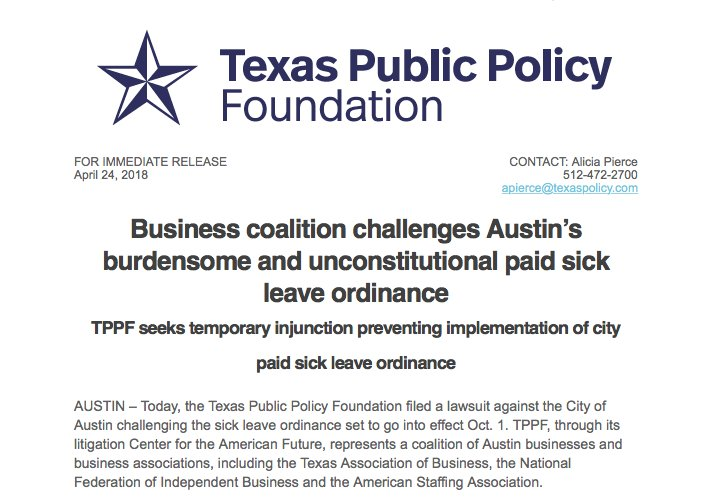 Texas Public Policy Foundation on Twitter:
