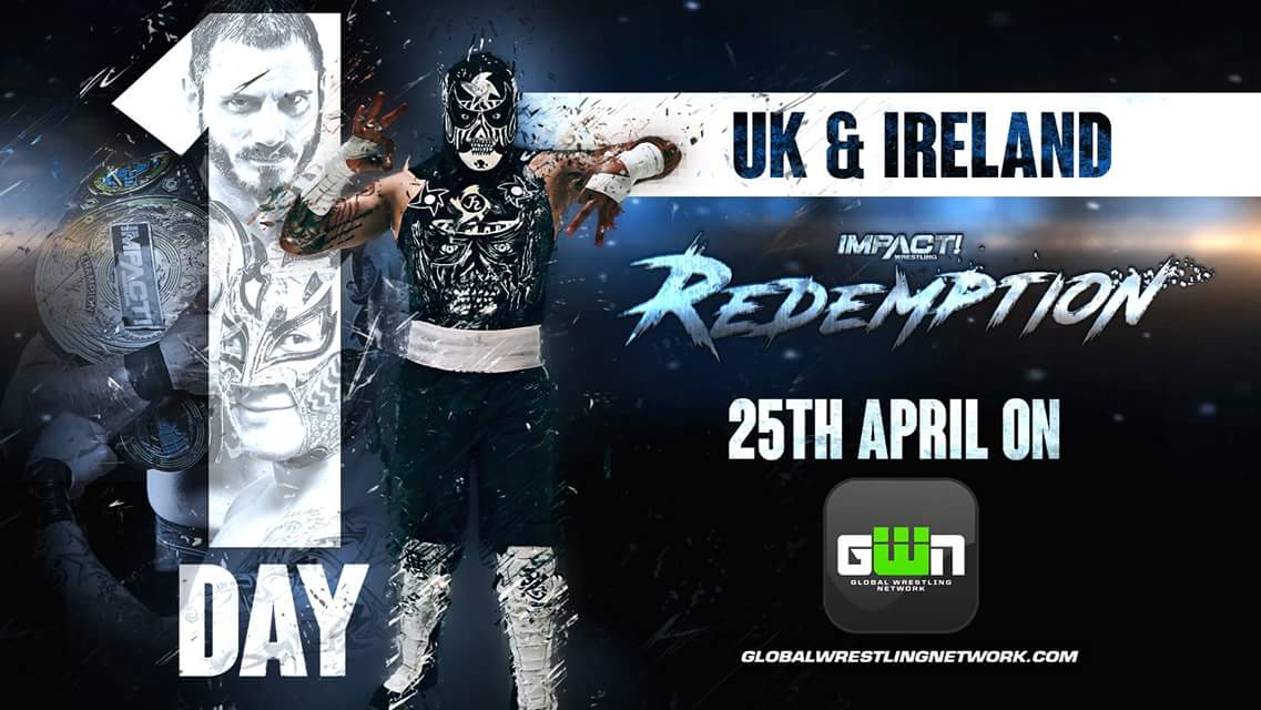 #Redemption reaches our side of the pond TOMORROW and we can barely contain ourselves!!  Are you all ready and signed up to the @GWNapp? We will be posting a guide tomorrow morning to make sure you are all set! #ImpactUK