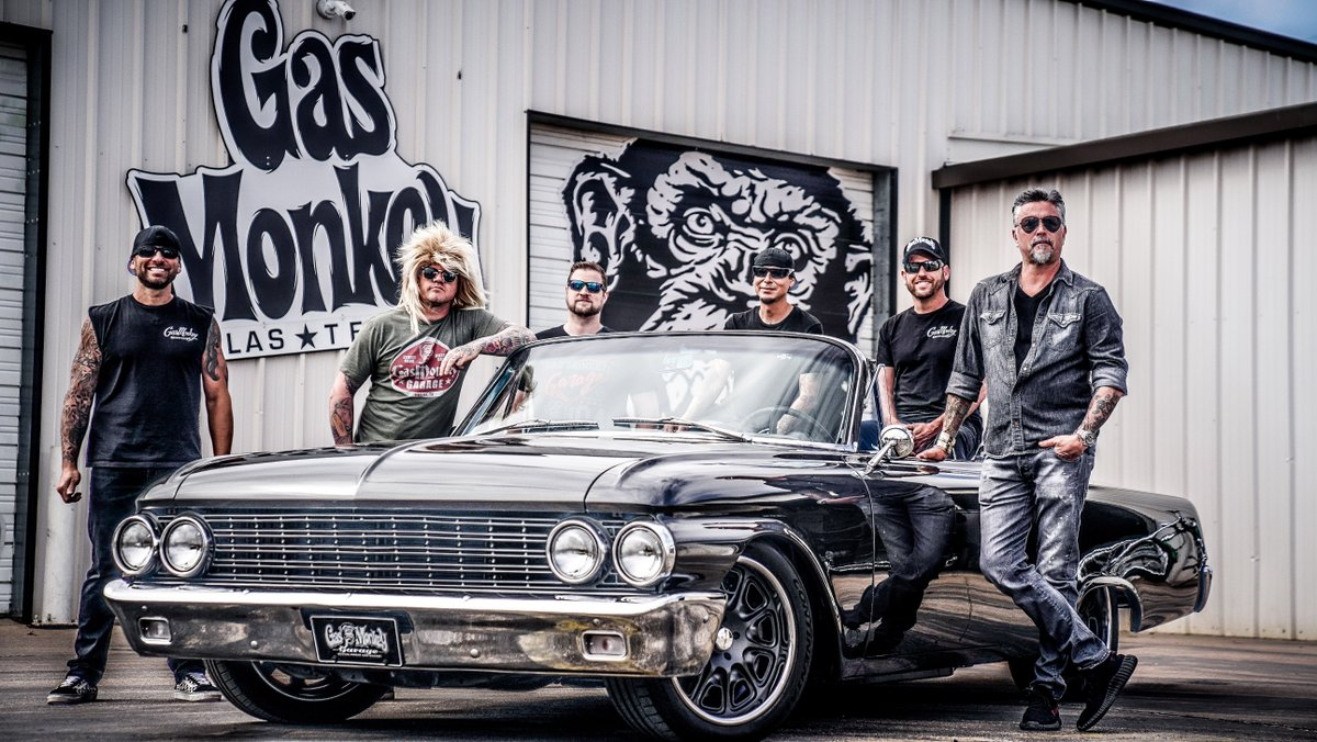 Gas monkey garage gasmonkeygarage twitter for Garage ford 62