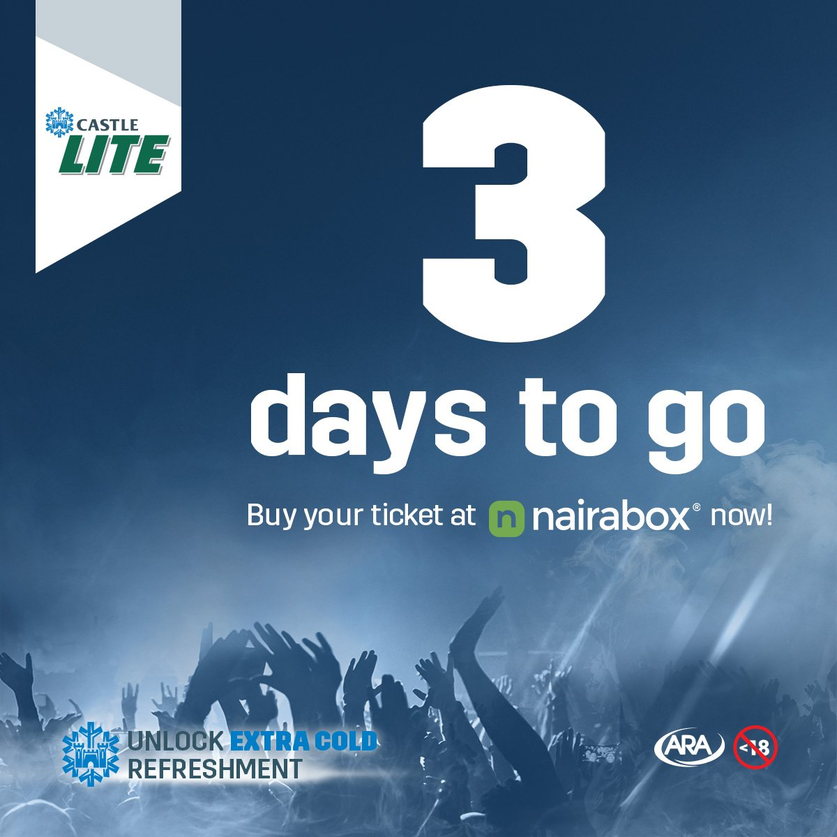 Castle Lite Nigeria On Twitter Only 3 Days Before We Get To See J