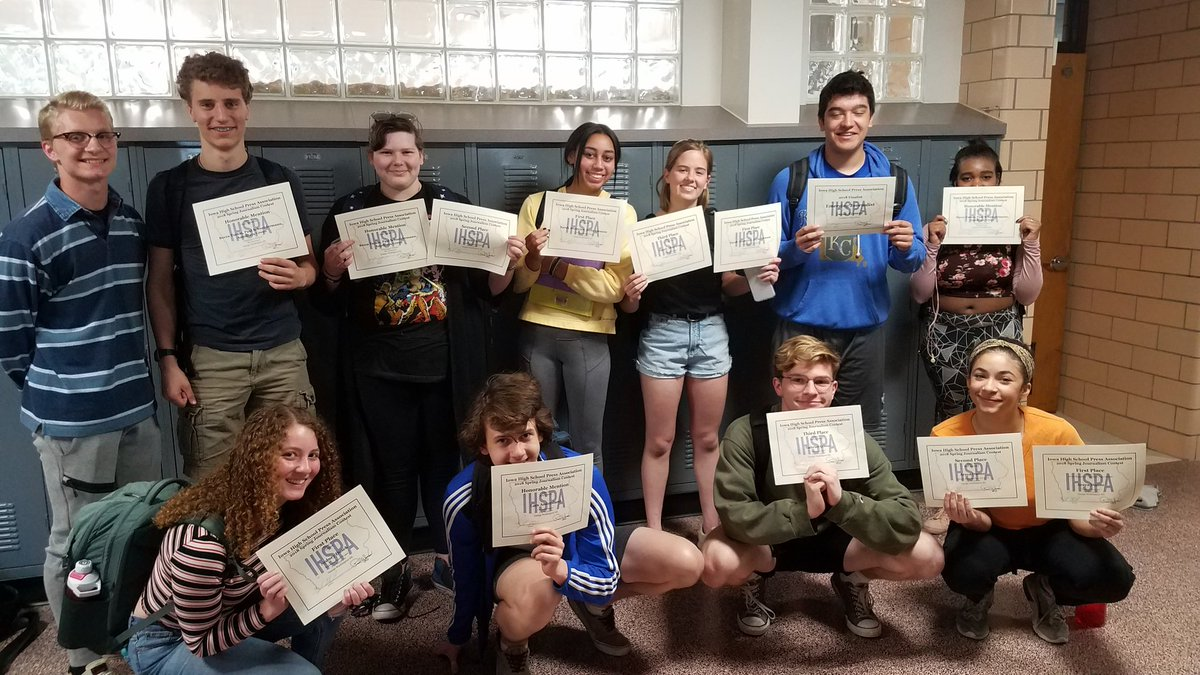 test Twitter Media - Congrats to all of our @ihspa spring news contest winners! (Not pictured: Quinn Wilcox.) https://t.co/BSTFddW2gt