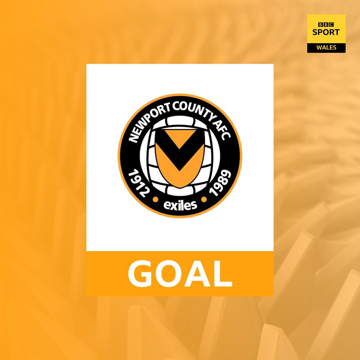 GOAL! Newport County 2-0 Accrington   ⚽ Frank Nouble doubles the Exiles lead against the League Two leaders on 85 minutes  📻 Updates on @BBCRadioWales FM/DAB in south east Wales.