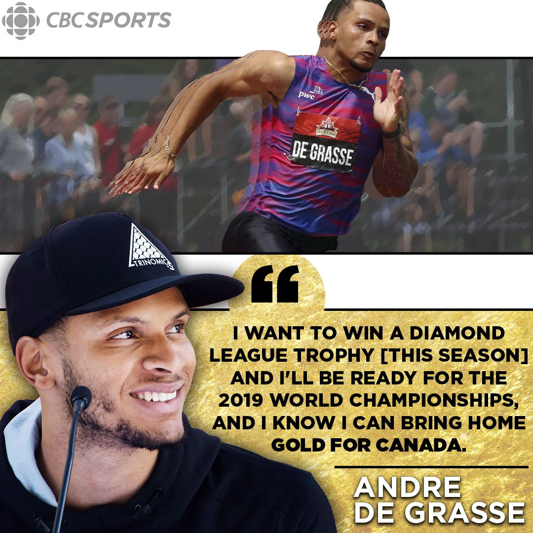 Read our Q&A with @De6rasse on his return to racing and life after @usainbolt https://t.co/K5RkdGo7Vy