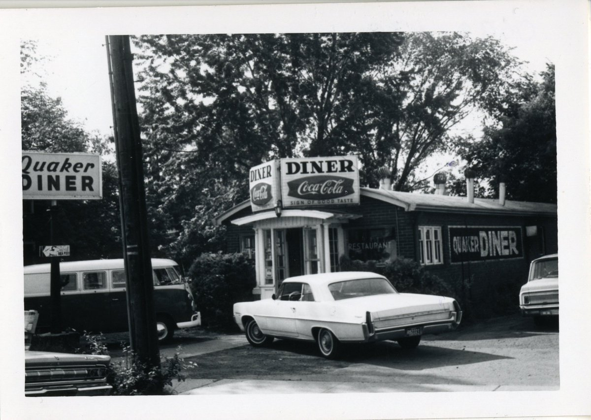 The Quaker Diner has been a #WestHartford institution for years. Learn more @ our #ParkRoad #walkingtour on May 5 with Architectural Historian @MaryMDonohue!  @ParkRoad_WeHa #WeHa #CT #localhistory #thisplacematters  https:// noahwebster.yapsody.com / &nbsp;  <br>http://pic.twitter.com/cTNt8Zj7Px