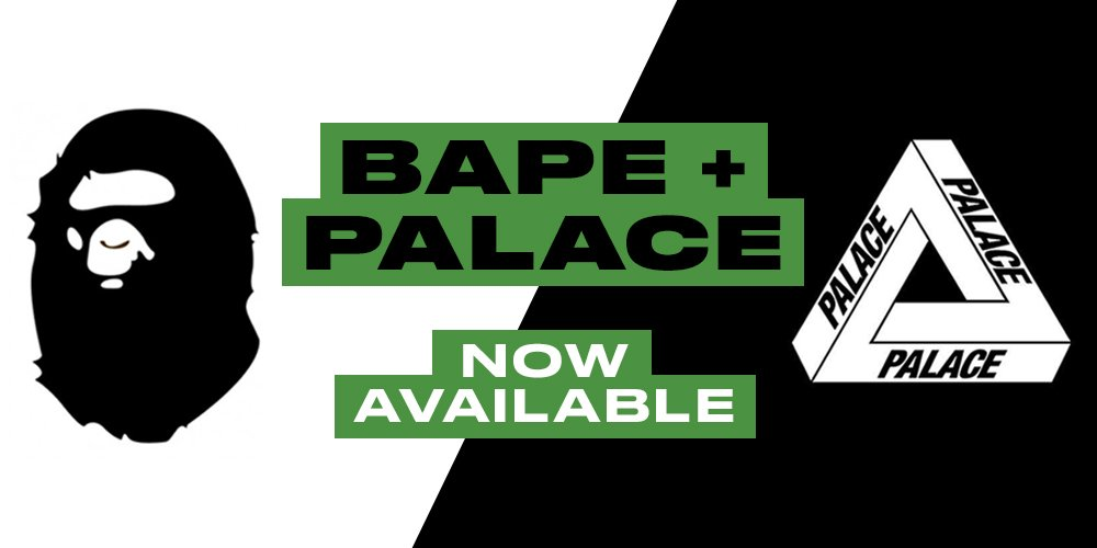 9a00ea99 ... buy and sell authentic BAPE and Palace items on StockX. Shop Now:  https://stockx.com/news/bape-and-palace-streetwear-launch/  …pic.twitter.com/31JeCLAiZI