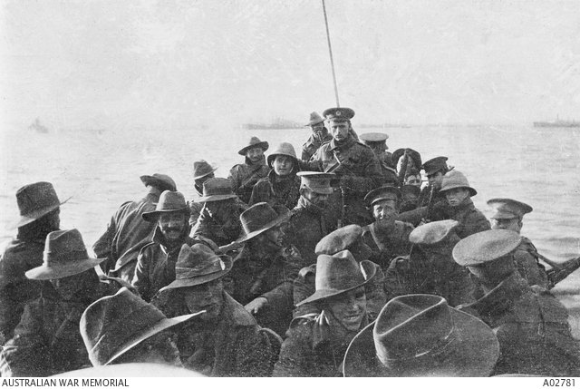#OnThisDay 1915: Australian and New Zealand troops land on Gallipoli #AnzacDay